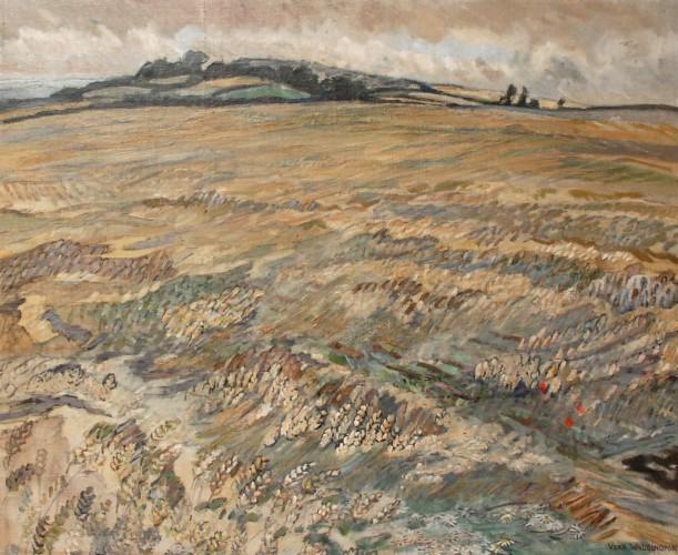 Cornfield, Oil, 1943