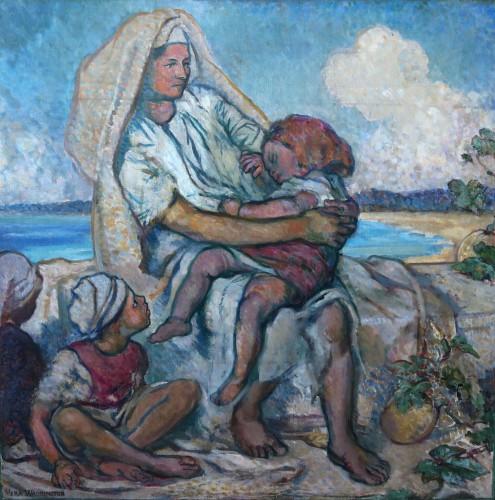 Maternity, Oil, 1911